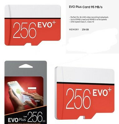 Samsung Evo+ 256gb Micro SD With Adapter