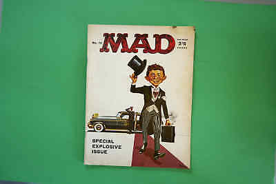 Mad magazine  No 75 UK edition