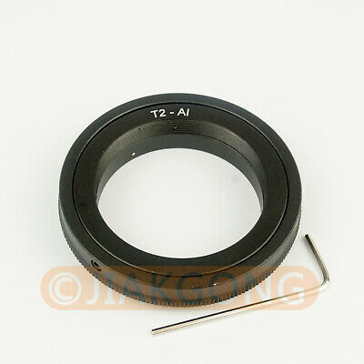 T2 T mount Lens to NIKON mount adapter D5200 D5000 D600 D90
