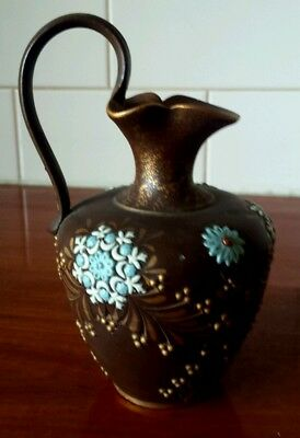Beautiful (Royal) Doulton Lambeth 'Silicon' ware jug/vase