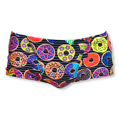 Funky Trunks Badehose Schwimmhose Swimshorts Classic Trunks Dunking Donuts