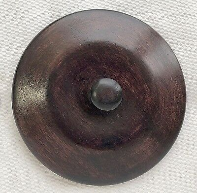 "5""  Chinese Oriental Wooden Lid Cap Cover for Ginger Jar and Vases"