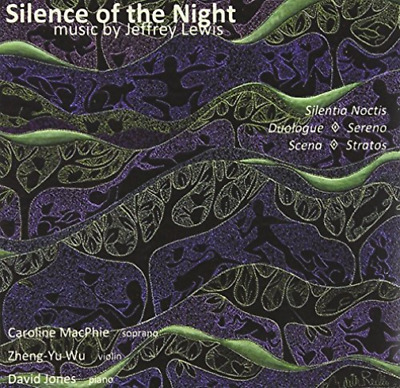 Silence of the Night: Music By Jeffrey Lewis CD NEW