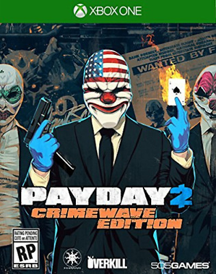 Payday 2 Crimewave Xb1 Game New