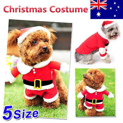 Pet Dog Clothes Christmas Costume Cute Clothes For Small Puppy Dog Cloth Costume