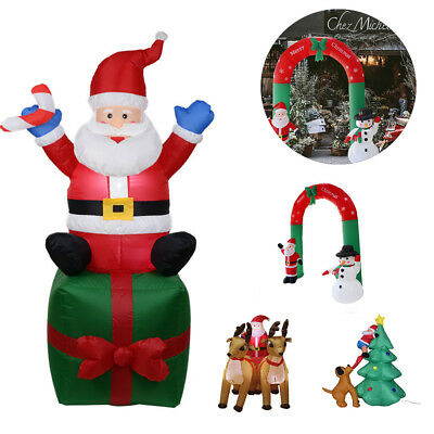 Huge Inflatable Christmas Santa Snowman Funny Party Home Indoor Outdoor Decors