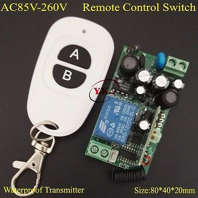 AC110V RF Wireless Remote Switch AC110V AC120V 180V 220V 230V 240V