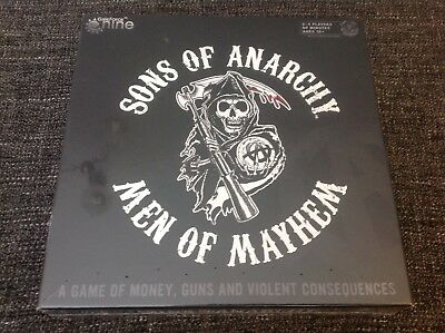3582ddc6bc8f SONS OF ANARCHY Men Of Mayhem Board Game - 2015 2014 - EUR 14,41 ...