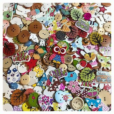400 RANDOM SURPRISE MIX Buttons SOME IMPERFECT Lot Sewing Craft Novelty 3-2 mash