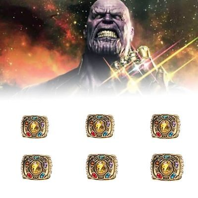 2018 THANOS Infinity Gauntlet POWER RING Avengers The Infinity War Stones