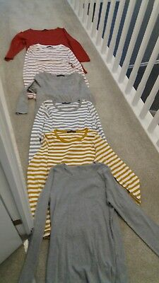 Job Lot Bundle 6 M&S Tops size 16 Long and 3/4 Sleeve Never Worn
