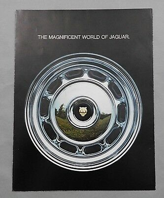 1974 Sales Salesman Brochure Magnificent World of Jaguar E-Type XJ12 Xj6