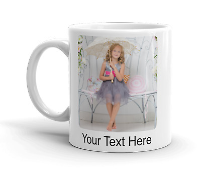 Personalised Photo Mug Any Text Here Tea Coffee Cup Christmas Gift