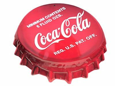Coke Bottle Cap Sign Tin Sign 18 x 16in