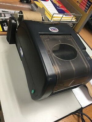 TSC TTP-245C Label Printer with power supply and label holder