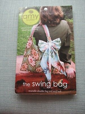The Swing Bag Sewing Pattern By Amy Butler - Reversible Shoulder Bag