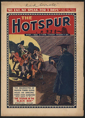 Hotspur #271 Nov 5Th 1938 Exceptional Copy From Private Collection