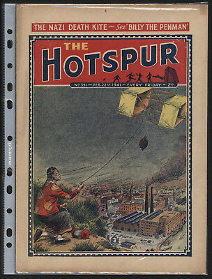 Hotspur #391 Feb 22Nd 1941,  Exceptional Copy From Private Collection
