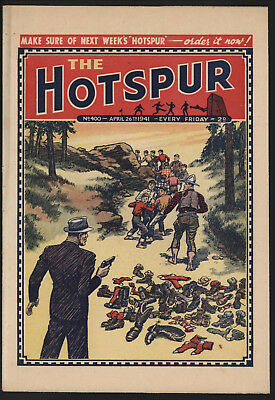 Hotspur #400, Apr 26Th 1941,  Exceptional Copy From Private Collection