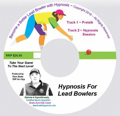 Specialized Lawn Bowls Hypnosis For Lead Bowlers