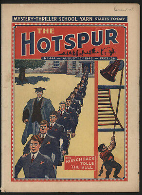 Hotspur #444, Aug 15Th 1942,  Exceptional Copy From A Private Collection