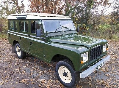 Land Rover 109 Stage 1 V8 SW ( Fitted with Fairey overdrive )