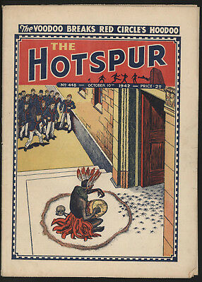 Hotspur #448, Oct 10Th 1942,  Exceptional Copy From A Private Collection
