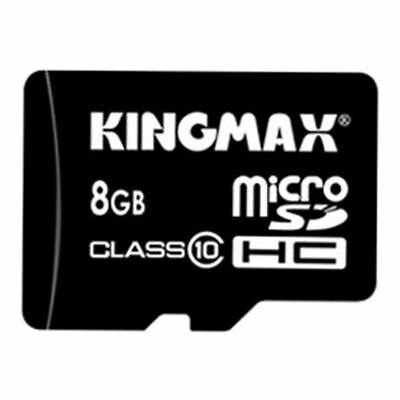 Kingmax 8GB Class 10 Micro SD TF Micro SD Card For all devices-Adapter included