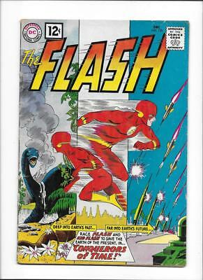 """Flash #125 [1961 Vg+] """"conquerors Of Time!"""""""