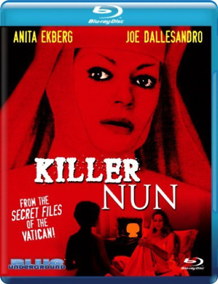 EKBERG,ANITA-Killer Nun (Blu-Ray) Blu-Ray NEW