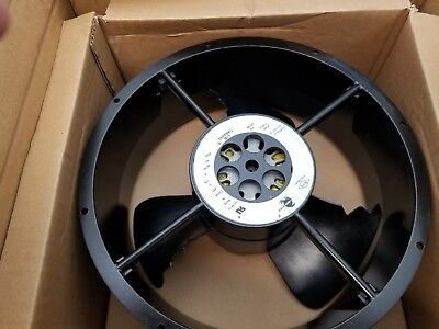 """Caravel CLE2L2, Comair Rotron 020188 10"""" Cooling Fan & Screen 115 VAC NEW [A5S2]"""