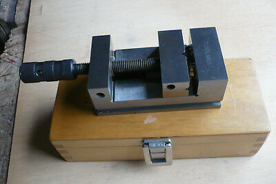 Toolmex Precision Clamping Fixture With Threaded Spindle In Wooden Box