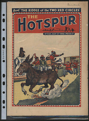 Hotspur #546, July 13Th 1946,  Exceptional Copy From A Private Collection