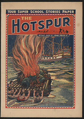 Hotspur #547, July 27Th 1946,  Exceptional Copy From A Private Collection