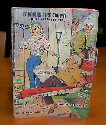 French 1963 Canadian Tire Corp'n Magazin Book