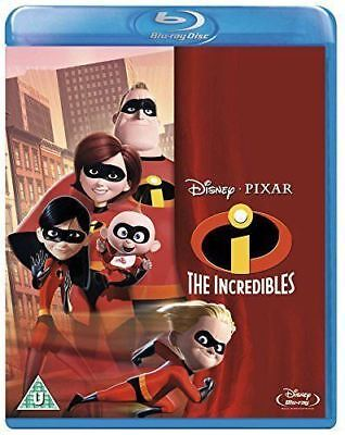 Disney Pixar's The Incredibles Blu-ray & DVD Region ABC New