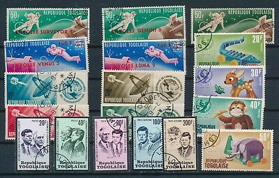 Togo **60+ MOSTLY USED (1959-71)**; SOME COMPL SETS; AS SHOWN