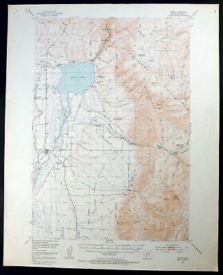 1949 Ennis Montana McAllister Lee Metcalf Wilderness USGS Topo Map