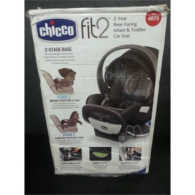 Chicco Fit2 Rear Facing Infant & Toddler Car Seat  4-35lbs Tempo 07079771580070*