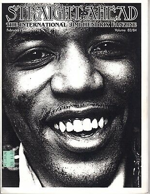 Straight Ahead The International Jimi Hendrix Fanzine Vol. 83/84 Feb./March 1996