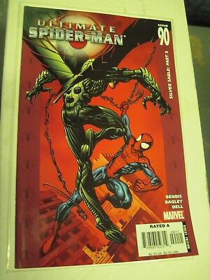 Ultimate Spider-Man #90 VF/NM; Marvel SILVER SABLE PART 5 BAGGED & BOARDED