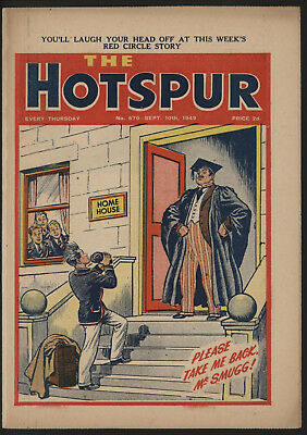 Hotspur #670, Sept 1949,  Exceptional Copy From A Private Collection