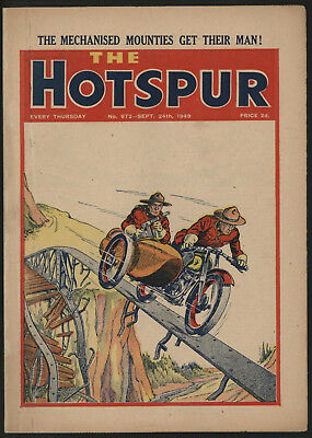 Hotspur #672, Sept 24Th 1949,  Exceptional Copy From A Private Collection