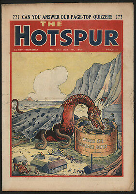 Hotspur #673, Oct 1St 1949,  From An Exceptional Private Collection