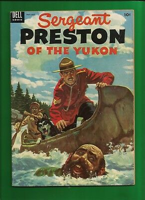 Sergeant Preston of the Yukon No.11 (1954) Dell Comics