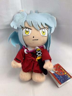 "NEW Great Eastern InuYasha - 8"" InuYasha Stuffed Plush w/ Suction Cup"