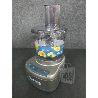 f270b671e3ba CUISINART FP-8GM ELEMENTAL 8 Cup Food Processor, Gunmetal - $50.00 ...