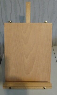 Daler & Rowney artists portable/table top easel with equipment compartments-BN
