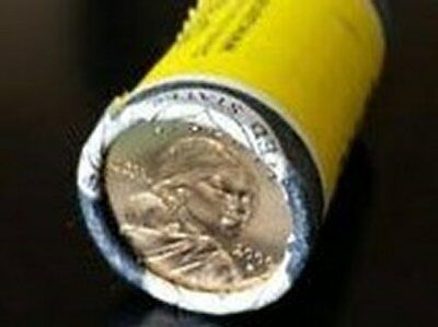 2000-P SACAGAWEA Uncirculated Golden Dollar 25 Coin Roll From the US Mint