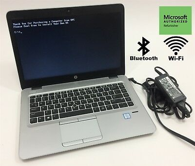 HP ELITEBOOK 840 (G3) Laptop Core i5 6th Gen  2 4GHz 250GB SSD 8GB 14